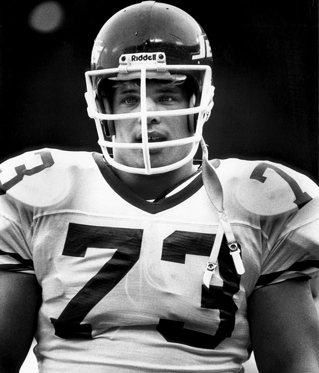 New York Jets defensive tackle Joe Klecko during a dominant performance by his team over the Green Bay Packers in a 24-3 win.