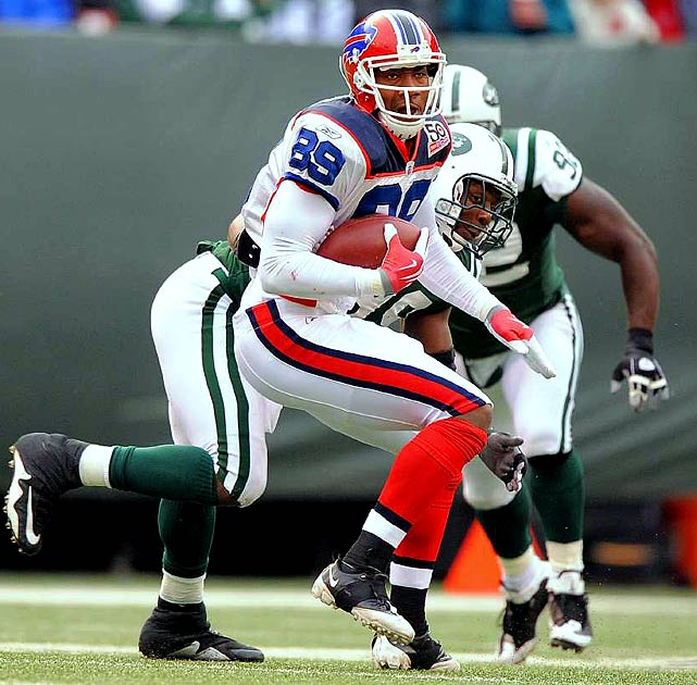 Buffalo tight end Shawn Nelson, who had 17 catches for 156 yards and a touchdown as a rookie last season, will miss the first four games of 2010 for violating the league's substance abuse policy. The Bills had hoped to make Nelson an integral part of their passing attack.