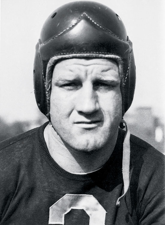 More than a half century before John Elway, Bronko Nagurski marched off into the sunset an aging two-time champion. Nagurski left football in 1937 but was lured back by the Bears during the talent-starved World War II season of 1943. He delivered in the championship game against the Redskins with a  three -yard touchdown run in the second quarter that gave Chicago a 14-7 lead it would never relinquish. The Bears dominated, 41-21, giving Nagurski a pair of bookend titles in his career: He had thrown two touchdowns, including the game-winner, in the very first NFL title tilt in 1933, a 23-21 win over the Giants. (Send comments to siwriters@simail.com)
