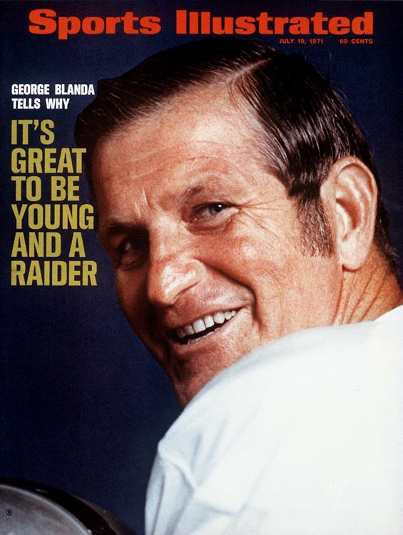 The late George Blanda joined the Bears as a 22-year-old quarterback and kicker in 1949 and retired from the Raiders in 1975 at 48, still the oldest player in NFL history. The 1970s campaign was the one that made him a legend among the gridiron geriatric set. In an amazing five-week stretch in the middle of the season, Blanda twice came off the bench in place of Daryle Lamonica to throw game-winning touchdowns in the fourth quarter, and three times kicked game-winning or game-tying field goals in the final seconds, including two kicks longer than he was old: a 48-yarder to tie the Chiefs and a 53-yard boomer the following week to beat the Browns. Blanda nailed a 41-yard field goal in his final game, a 16-10 loss to the Steelers in the 1975 AFC title contest. Here are some of the NFL's other golden oldies.