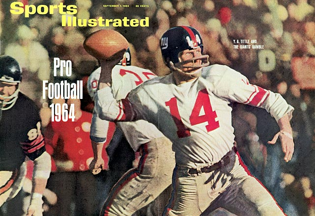 Y.A. Tittle was the ultimate late bloomer, producing his two greatest seasons in 1962 and 1963, well into a pro career that began in 1948. The 1963 campaign remains one of the legendary old-man efforts in history, as the balding-even-beyond-his-years Tittle passed for a then-record 36 touchdowns and an amazing 104.8 passer rating to lead the Giants to an 11-3 record and a showdown with the Bears in the NFL championship game.  But the fairy tale season ended in the title tilt: Tittle was beat up badly by the Bears and threw five picks in a 14-10 loss.