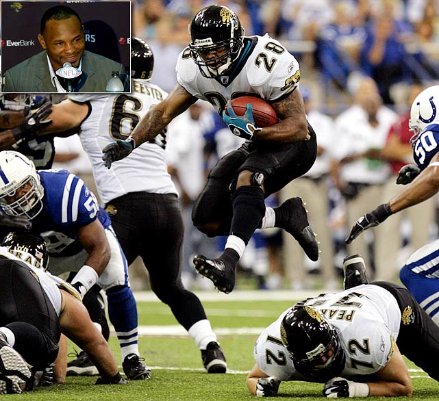 "Arguably the most recognizable Jacksonville Jaguar of all-time, Fred Taylor had to retire in the state of Florida. A Pahokee, Fla., native and one of the top backs to ever play for the University of Florida, Taylor was drafted by the Jaguars in 1998 and ended his career as the franchise's all-time leading rusher. A Pro Bowl elect in 2007, Taylor is the second player to be enshrined in the ""Pride of the Jaguars,"" the team's Hall-of-Fame, after offensive tackle Tony Boselli. Taylor signed a one-day contract on Sept. 2, 2011."