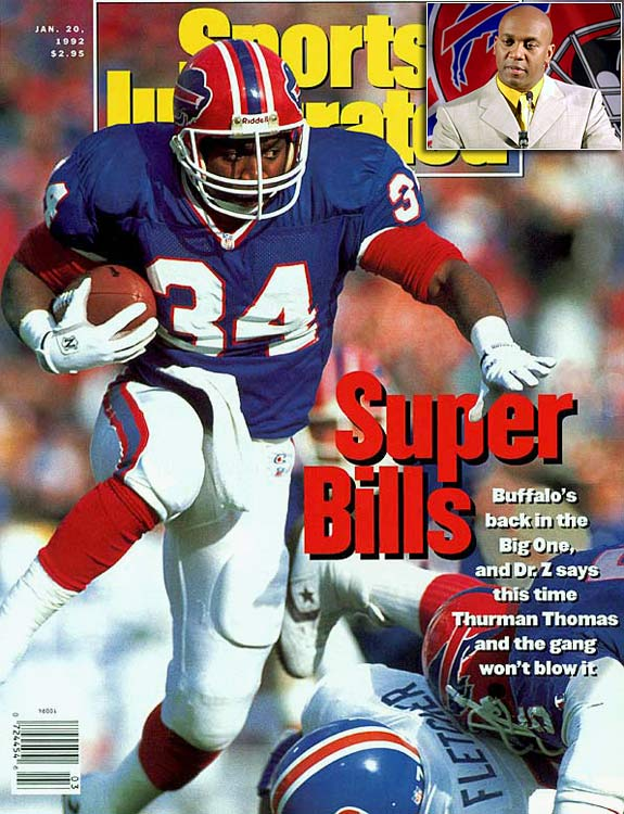 Buffalo caused a stir amongst its fan base when it released Thomas along with defensive end Bruce Smith and wide receiver Andre Reed before the 2000 season. Smith, the Bills' all-time leading rusher, returned to the team in February 2001 to retire after a season with rival Miami.
