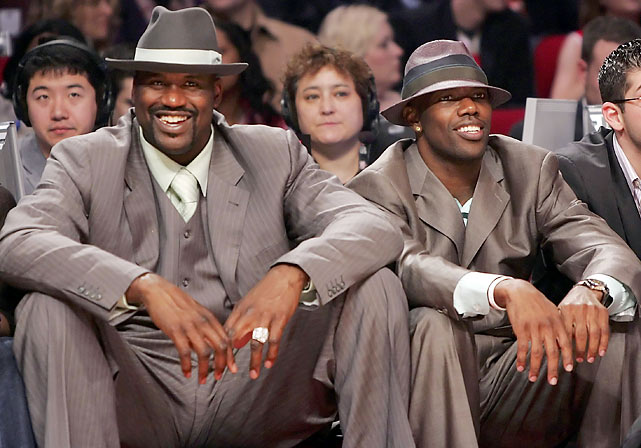 Shaq and T.O. were a sight to behold at the 2006 NBA All-Star game.
