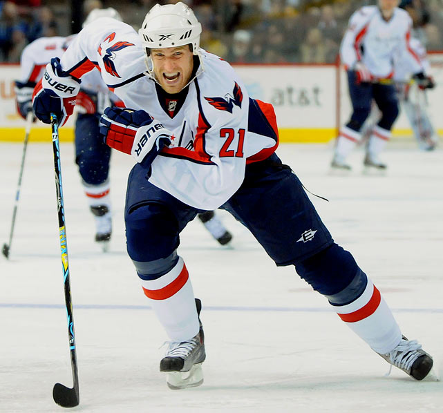 A versatile forward with nice scoring touch -- he reached career highs of 25 goals and 59 points last season -- Laich has developed a solid defensive game (plus-16) and he stays out of the box (only 34 PIM in 78 games).