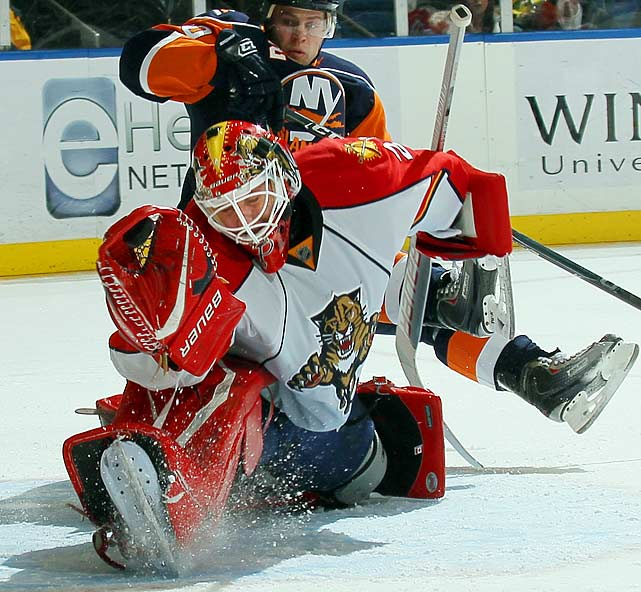 A veteran netminder of 12 NHL seasons, Vokoun has elite-level skills. He recorded a career-high seven shutouts for the woeful Panthers in 2009-10.