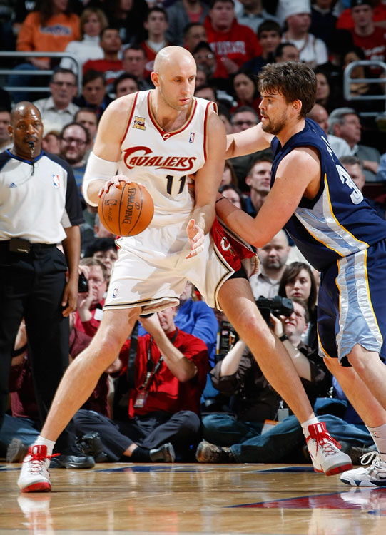 "LeBron James wasn't the only Cavalier to bolt Cleveland for South Beach this summer. Zydrunas Ilgauskas signed with the Heat as well, hoping to provide some scoring from the center position. Nicknamed ""Big Z,"" the 7-foot-3 Ilgauskas averaged 13.8 points, 7.7 rebounds and 1.6 blocks over his 12 seasons with Cleveland and has never suited up for another NBA club."
