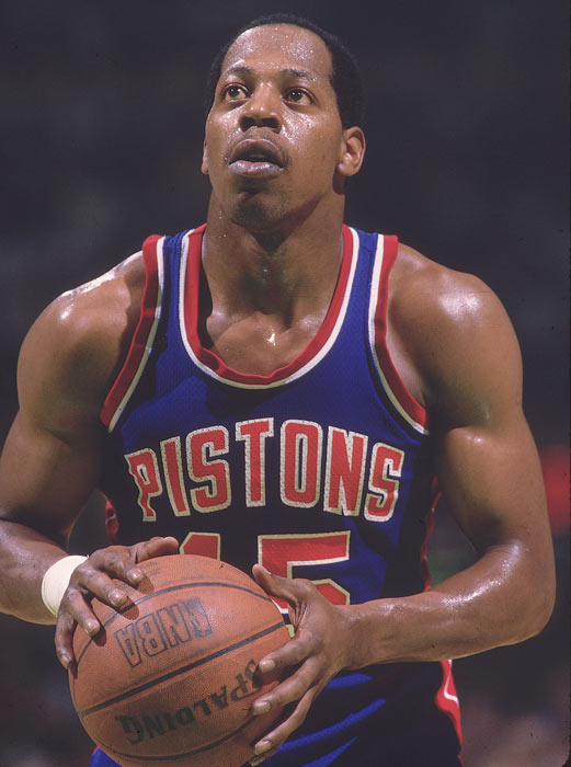 "Vinnie Johnson provided an offensive spark off the bench as ""The Microwave"" averaged 14 points in 25 minutes per game."