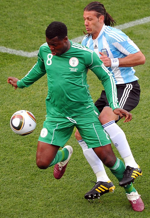 In what was a disappointing tournament as a whole for Africa, none was more disappointing than Nigeria. Star striker Yakubu (left) personified the dire campaign with his astonishing miss of an open goal from just three yards out.