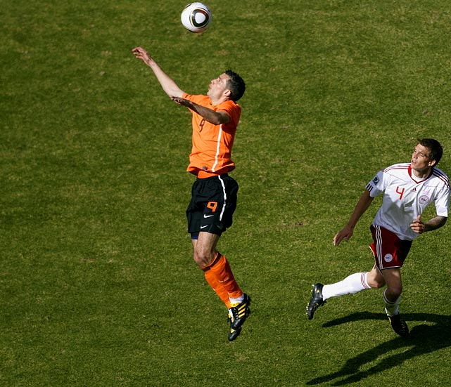 Arsenal star Van Persie is regarded as one of the finest forwards in the world and was supposed to have more of an impact in the tournament. Other than a goal against Cameroon in the group stage though, he's been very quiet.