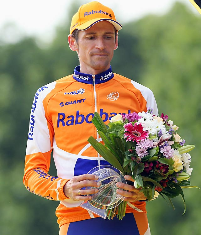 The Silent Assassin has quietly climbed onto the podium at the Tour. He was fifth in 2006 and fourth in 2008 before reaching third place with a brilliant final time trial in 2010. Menchov is already a champion in the other two Grand Tours (Spain, Italy). If either Contador or Schleck falter, look for the Russian to take advantage.