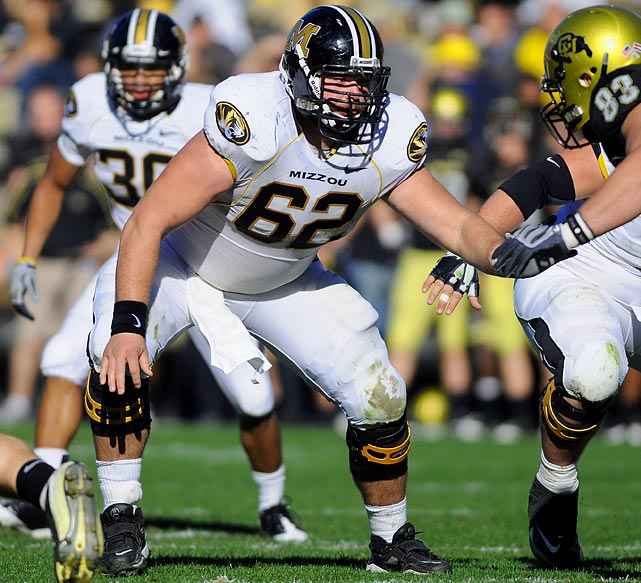 One of the nation's top centers, Barnes anchors a strong Tigers offensive line that returns four starters.