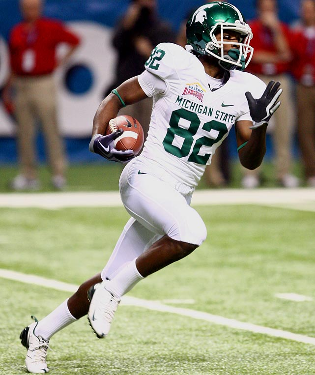 An explosive playmaker who led the Spartans with 1,451 all-purpose yards last season, Martin is dangerous every time he touches the ball.