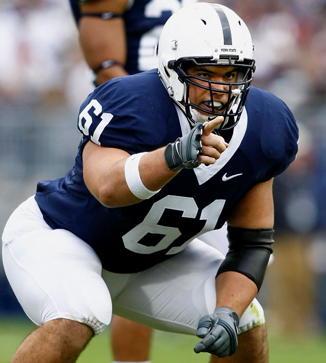 A four-year starter who played center last season, Wisniewski moved back to his preferred spot at guard in the spring.