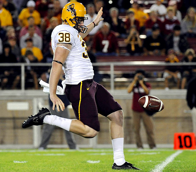 The former walk-on earned the starting job in 2009 and averaged 44.2 yards per punt, best in the conference and 10th in the NCAA. Hankins had 21 of his 69 punts downed inside the 20-yard line, and 18 went for more than 50 yards.