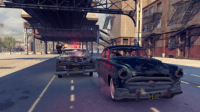 In Mafia II, you control Vito Scalleta, an Italian American, just back from service in World War II in the 1940s. Controlling Vito from a third-person perspective you enter a rich story set in the fictitious Empire City. The game is broken into various missions that advance Vito's career from street thug to intimidating gangster and enforcer. The story is driven along through detailed cut scenes that seem cheesy and annoying at first, but eventually grow on you. The game is linear, and in completing many of the missions you spend a lot of time behind the wheel of various era cars. It's fine early on, but it grows repetitive as you progress. There's plenty of fisticuffs and gun play for action fans, but the aiming and cover mechanics are a little wonky. If you like the gangster game genre you'll enjoy this one.  Score: 7.5/10
