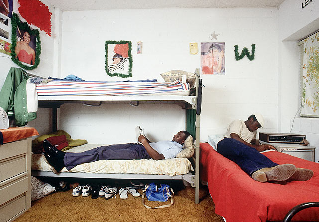 "Here in his dorm room, Rice might have been studying the nicknames of everyone on Mississippi Valley State. He was nicknamed ""World,"" while other monikers included ""Satellite"" (quarterback Willie Totten) and ""The Gunslinger"" (coach Archie Cooley)."