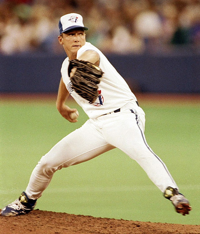 Acquired from the Mets on Aug. 27 for a package that included rookie infielder Jeff Kent, Cone wasn't sharp in his first two Blue Jays starts, but in his next five he allowed just four runs in 38 1/3 innings (0.94 ERA, 7 2/3 IP per start). He then added two innings of scoreless relief on three days' rest on the final day of the season. Twenty days later, he threw six strong innings in the clinching game of the Jays' first world championship.