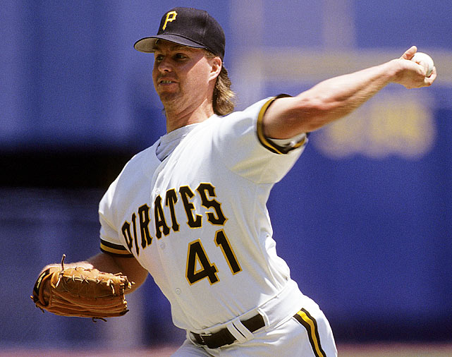 The Pirates were locked in a back-and-forth battle with the Mets when they decided to send former first-round pick Moises Alou to the fading third place Expos in a package for Smith. The price might have been too high, but the lefty delivered, turning in quality starts in his first nine turns for the Bucs, including a pair of shutouts, one a 1-0 victory over the Mets on Sept. 5, as the Pirates reached the postseason for the first time in 11 years. In his 10 starts for the Pirates, Smith posted a 1.08 ERA, 0.83 WHIP and 6.13 K/BB, numbers far superior to his 6-2 record over that stretch, but the Pirates' offense was already collapsing on its way to an NLCS loss to the Reds.