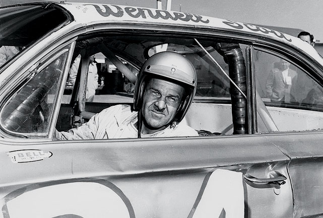 "NASCAR's early tangles with racism -- the Frances were once avid supporters of segregationist Presidential candidate George Wallace -- came to an ugly head on Dec. 1, 1963. In a 100-mile race on a half-mile dirt track in Jacksonville, Wendell Scott (pictured) bested Buck Baker to the line by two laps. But Baker was initially flagged the winner, a ""scoring error"" NASCAR reversed days later in a move some said was to keep a possibly rowdy Southern crowd from attacking the rightful victor. To this day, Scott's win remains the only one by an African-American in any of NASCAR's top three divisions."