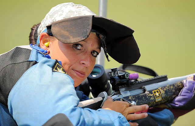 Sherri Gallagher, the 2009 overall Long Range High Power champion, is a member of the Army Marksmanship Unit, and the first serviceman to ever take home the Tompkins Trophy.  Her sister, Michelle, is a civilian and a three-time all-around champion.