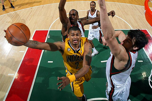 After T.J. Ford landed in coach Jim O'Brien's doghouse last season, Earl Watson stepped in and started 52 games for the Pacers, averaging 7.8 points and 5.1 assists. Indiana has since traded for Darren Collison to be their starting point guard, while Ford and A.J. Price remain on the roster. The 31-year-old Watson is undersized and a subpar shooter, but he's a serviceable option for a team seeking depth at the point.