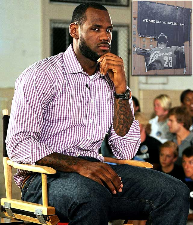 "The 2009-10 season was overshadowed by LeBron's pending free agency. He stayed fairly quiet through it all, dropping only a few misleading hints to Larry King after the Cavs' season had ended. But when he decided to air his decision, er ""The Decision,"" in a one-hour special on ESPN, fans' vision of a mature and humble LeBron James was shattered. To recap: He said he ""took his talents"" to Miami, he ""spoiled"" fans with his play and, looking back, he doesn't believe Cavs owner Dan Gilbert ""ever cared about LeBron."""