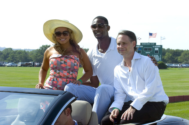 Who knew Chris Bosh was a polo fan? The Miami Heat forward attended the opening day of the 2010 Mercedes-Benz Polo Challenge at Bridgehampton, New York.