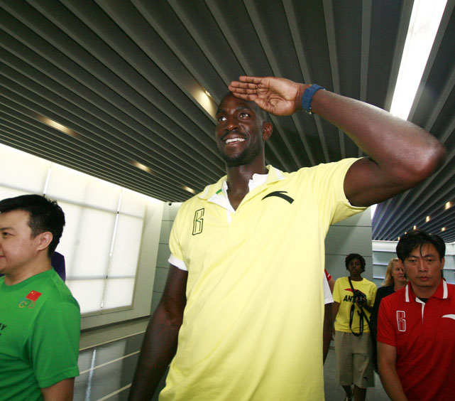 Celtics big man Kevin Garnett made friends at a shoe factory in Jinjiang, China.