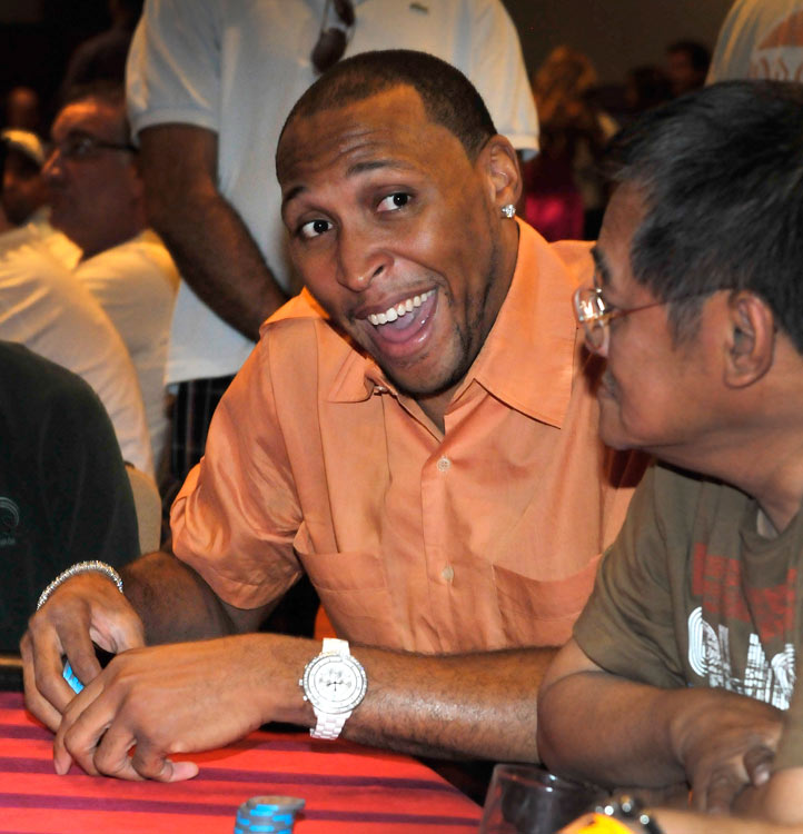 Mavericks forward Shawn Marion hit up the poker table for his Annual Shawn Marion Foundation Poker Tournament at The Palms Casino Resort in Las Vegas. What a life.