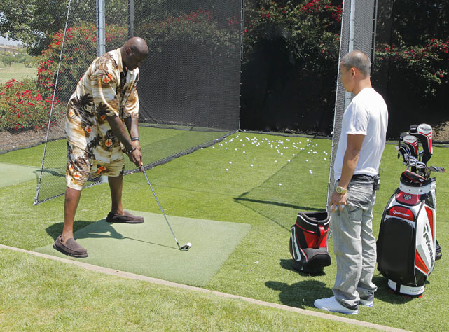 "The Big Shamrock honed his golfing skills in Dana Point, Calif., where he prepped for a ""Shaq vs."" episode against notoriously awful golfer Charles Barkley."