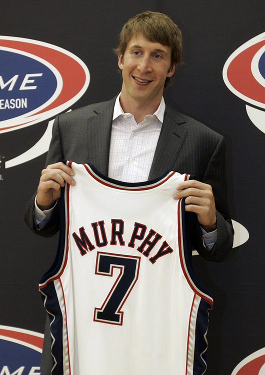 Troy Murphy has never been a good defender or generated much offense in the post, but he's consistently productive: Last season the 30-year-old power forward posted 14.6 points and 10.2 rebounds, the fourth time in 10 seasons he's averaged a double-double. The 6-11 Murphy, who is being paid $11.9 million in 2010-11, also has become a dangerous three-point shooter. He was traded to the Nets in the offseason.