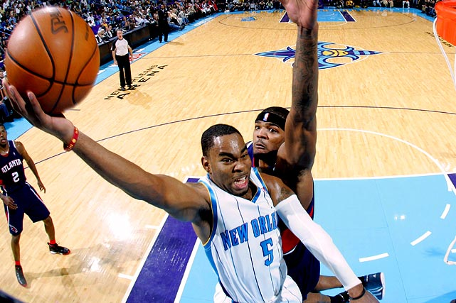 A second-round pick from LSU, Marcus Thornton was a revelation as a rookie in 2009-2010. Thornton averaged 14.3 points in 25.6 minutes, and his scoring average spiked to 19.8 points in his 17 starts. However, after a rough preseason, he began the 2010-11 season as a reserve.