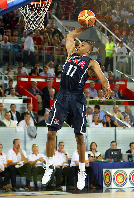 After leading UCLA to the Final Foul and playing with the U.S. Select Team in 2008, Westbrook was selected fourth overall in the draft by the Thunder. He finished his first pro season among the top four Rookie of the Year candidates and as a member of the All-Rookie first team. But it was his second year in the league that showed his maturation and improvement, and helped the upstart Thunder make their first trip to the playoffs.