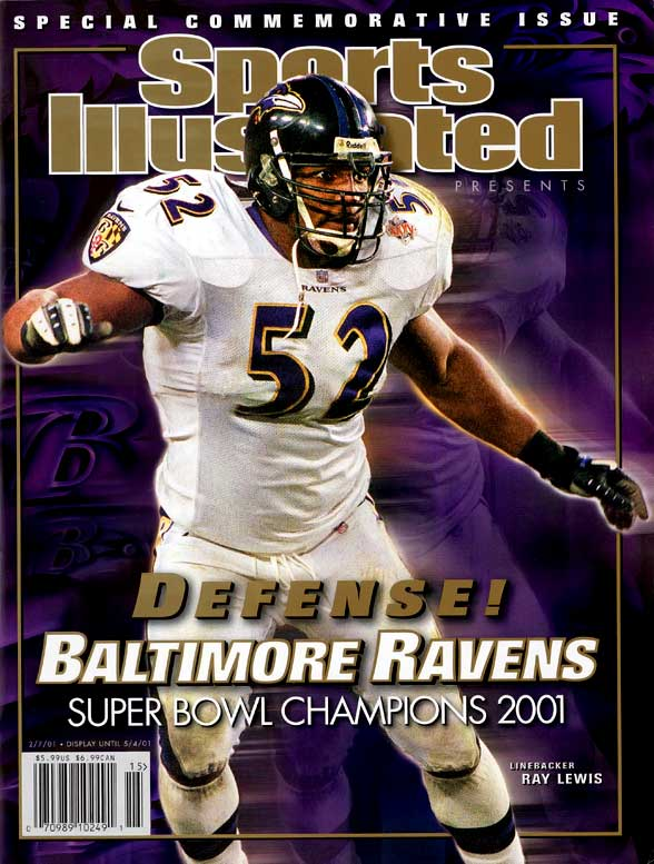 The Ravens inspirational leader is a two-time NFL Defensive Player of the Year. He enters his 15th season in 2010.    Runner-up: Mike Webster  Worthy of consideration:  Robert Brazile, Frank Gatski, Ted Johnson