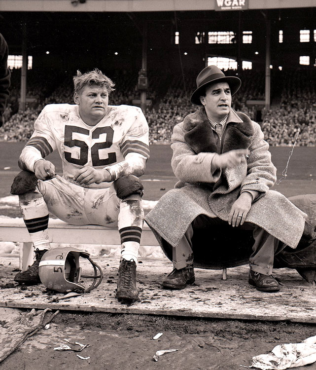 Gatski played center for the Cleveland Browns from 1946 to 1956, and for one season with the Detroit Lions in 1957. That year Gatski and the Lions beat his former team in the NFL Championship game.