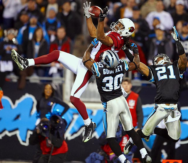 Career Receptions:  523   Career Receiving Yards:  7,067     Career Receiving Touchdowns:  59     Pro Bowls:       4  Super Bowl Victories:    0
