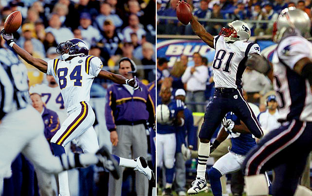 Career Receptions:  926   Career Receiving Yards:   14,465    Career Receiving Touchdowns:  148     Pro Bowls:     7    Super Bowl Victories:     0