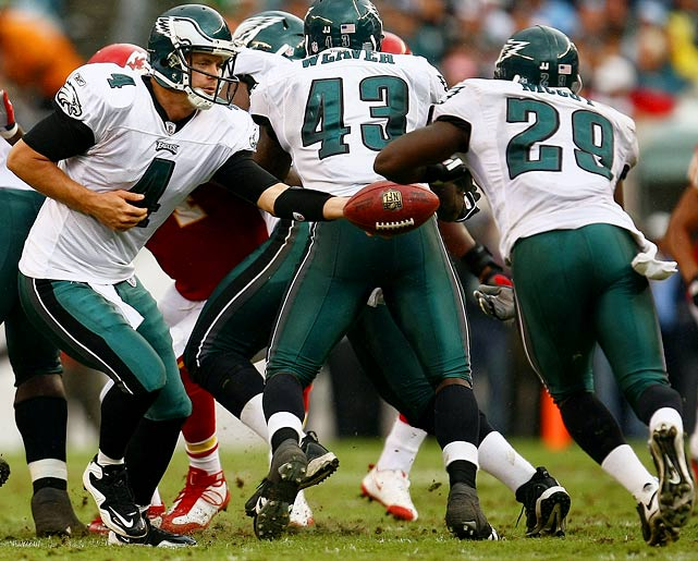 It's out with the old and in with the new in Philadelphia this year.  Gone are long-time Eagle mainstays Brian Westbrook, Shawn Andrews, Sheldon Brown and Donovan McNabb.  And in their place, players such as Kevin Kolb and LeSean McCoy must step up if this team intends to extend its playoff streak to three years.