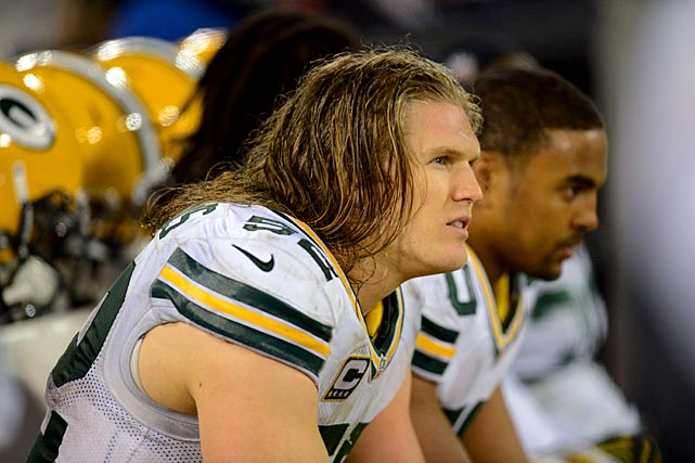 Clay Matthews is nearly as famous for his long blond mane as he is for his ferocious play. Matthews won the battle of big hair in Super Bowl XLV when his Green Bay Packers beat Troy Polamalu's Pittsburgh Steelers 31-25. Off the field, Matthews parlayed his locks into an endorsement deal with Suave, so apparently it pays to be prodigiously coiffed.