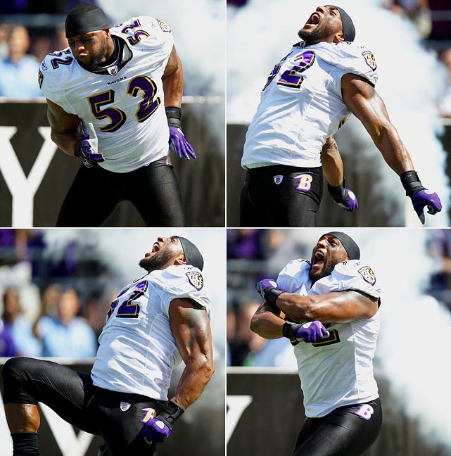 """Every player in the league tries to come up with some kind of something that could compare to Lewis' now-retired fist-pumping, slide-stepping, shoulder-popping trademark """"krunk"""" dance. No one has succeeded. Neither will anyone. Ever."""