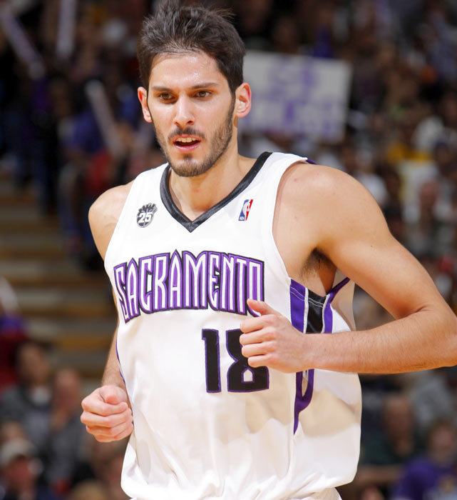 Casspi -- the pride of Holon, Israel -- became the first Israeli player to be selected in the first round of the NBA draft when the Sacramento Kings took him with the 23rd pick in 2009.