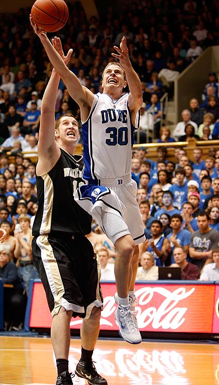 Scheyer once scored 21 points in 75 seconds of a high school basketball game before taking his deft perimeter touch to Duke, where he became an all-American for Coach K.