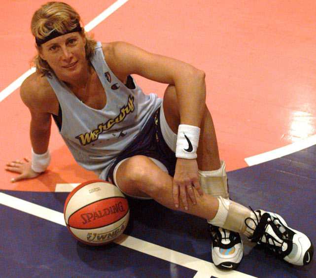 Lieberman won three medals in international tournaments with the U.S. national team, for which she started playing when she was just 17. In July 2008, at 50, she joined the WNBA's Detroit Shock on a seven-day contract.