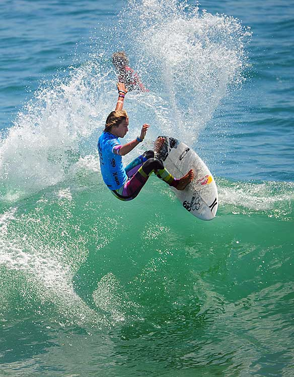 Evan Geiselman won the Pro Junior competition and clinched the ASP North America Pro Junior series title.