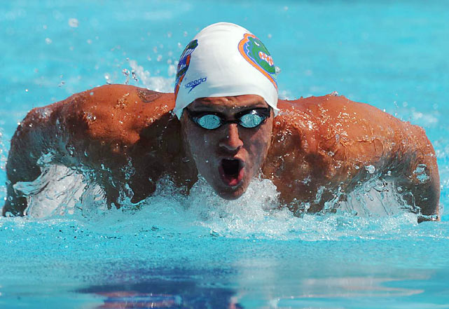 The hottest swimmer in the water as of late, Lochte is fresh off three wins at the U.S. Championships, two of which came at the expense of Phelps.  The two friendly rivals will face off again in the men's 200 and 400 IM.