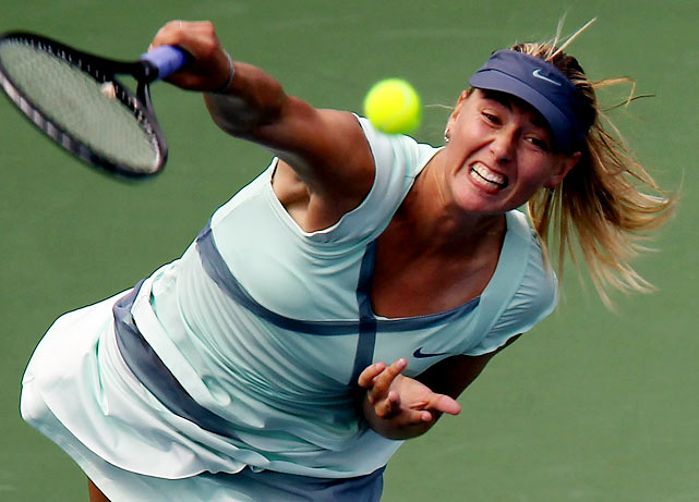 A three-time Grand Slam champion -- including the 2006 U.S. Open -- Maria Sharapova is back in contention after slipping to No. 126 in the rankings after undergoing shoulder surgery.