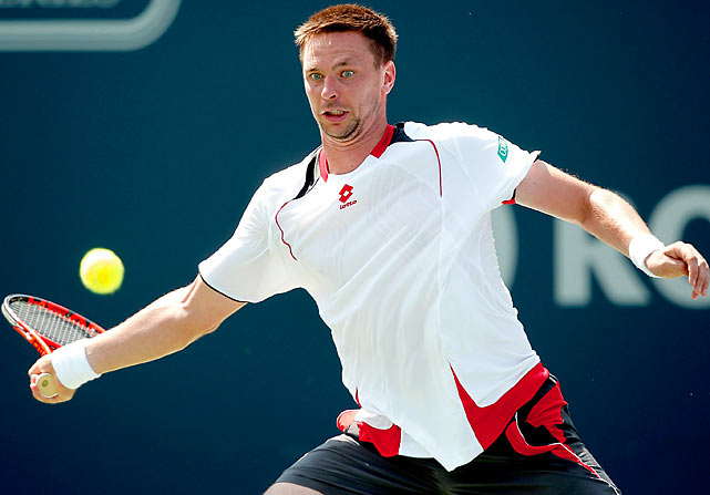Robin Soderling never quite sustained the momentum from that historic upset of Rafael Nadal at the 2009 French Open -- and subsequent run to the final -- but he's become a Top 10 fixture and legitimate threat at Slams. At Wimbledon, the Swede managed to snap Federer's record streak of 23 straight major semifinal appearances with a quarterfinal victory.