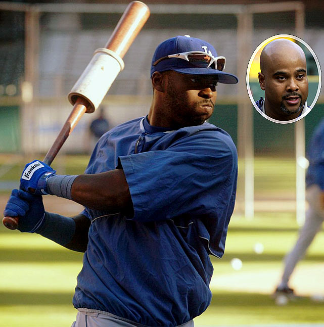 "During the 2004 playoffs, Dodgers outfielder Milton Bradley called  Los Angeles Times  beat writer Jason Reid an ""Uncle Tom"" and a ""sellout"" after objecting to the reporter's question about his treatment by St. Louis Cardinals fans. Reid then yelled at Bradley before players separated the two. The combustible Bradley apologized to Reid; he was not disciplined by the Dodgers or Major League Baseball."