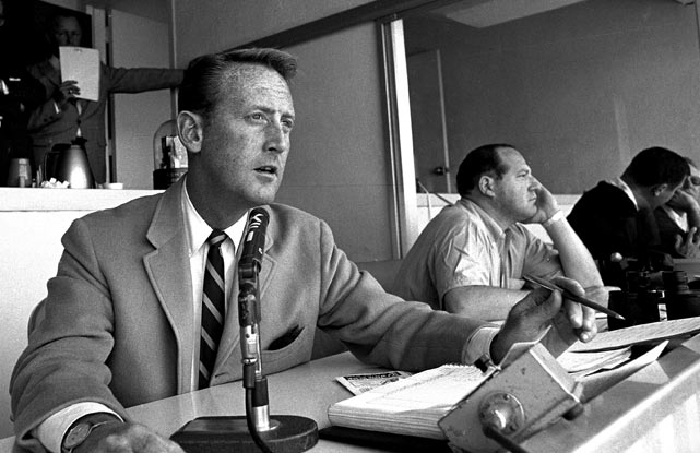 Vin Scully has announced he'll return to the Dodgers in 2011 to broadcast games for an amazing 62nd season. In 1953, at the age of 25, he became the youngest person to ever broadcast a World Series game, a record that still stands. He has called 28 of them altogether, another record.